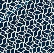 Afbeelding van Skew Cube - M - Donker Staalblauw