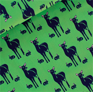 Picture of Oh Deer - M - Happy Green