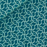Image de Skew Cube - M - Turquoise
