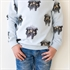 Picture of Ostrich - French Terry - Halogeen Blauw