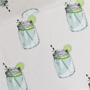 Picture of Iced Tea - L - Cotton Lawn - Light Gray