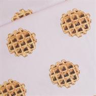 Image de Waffle - L - Coton Linon - Rose Voilée