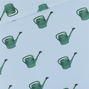 Picture of Watering Cans - M - French Terry - Mistblauw