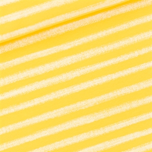 Picture of Chalk Stripes - M - French Terry - Habanero Yellow