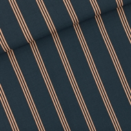 Picture of Three Lines Peach - M - Viscose Rayon - India Ink Blue