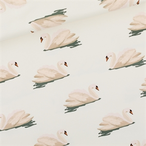 Picture of Swan - L - French Terry - Blanc Nuage