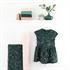 Picture of Flower Garden - M - Cotton Gabardine Twill - Darkest Spruce Green