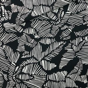 Picture of Winter Rose - M - Cotton Canvas Gabardine Twill - Black