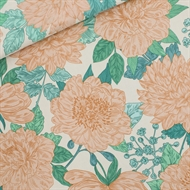 Picture of Peonies - L - Viscose Rayon - Sea Salt White
